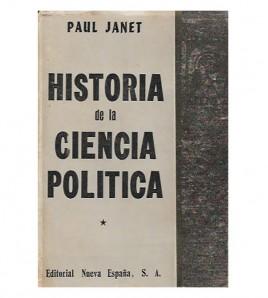 HISTORIA DE LA CIENCIA POLÍTICA (Dos tomos)