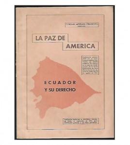 LA PAZ DE AMÉRICA (ECUADOR Y SU DERECHO)