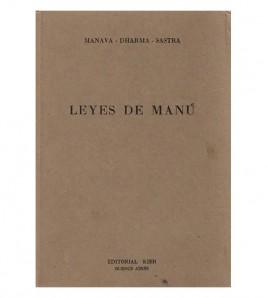 LEYES DE MANÚ. INSTITUCIONES RELIGIOSAS Y CIVILES DE LA IINDIA