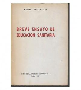 BREVE ENSAYO DE EDUCACIÓN SANITARIA