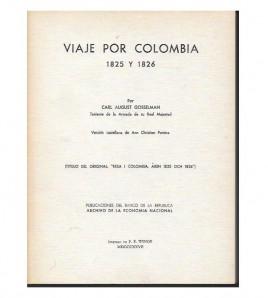 VIAJE POR COLOMBIA 1825-1826