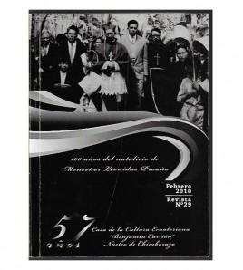 Revista Casa de la Cultura Ecuatoriana -Chimborazo, No. 29