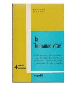 """LA """"HUMANAE VITAE"""""""