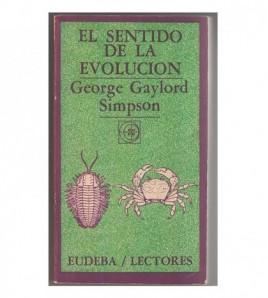 EL SENTIDO DE LA EVOLUCIÓN