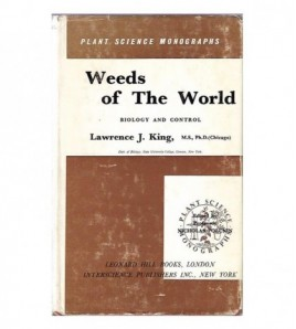WEEDS OF THE WORLD. Biology...