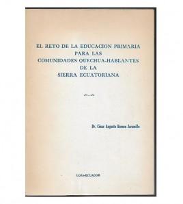 EL RETO DE LA EDUCACIÓN...