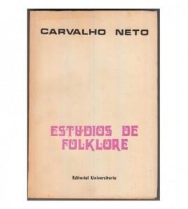 ESTUDIOS DE FOLKLORE I-III...