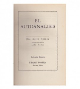 EL AUTOANÁLISIS
