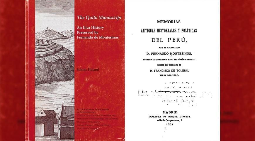 Un Manuscrito Quiteño en la Crónica de Montesinos